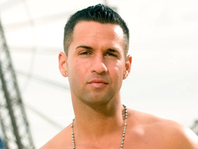 "Mike ""The Situation"" from MTV's Jersey Shore"