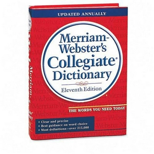 Elucidating dictionary webster
