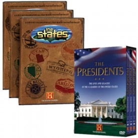 The States & The Presidents Gift Set
