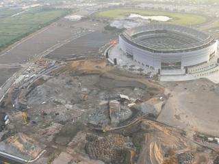 Demolished Giants Stadium